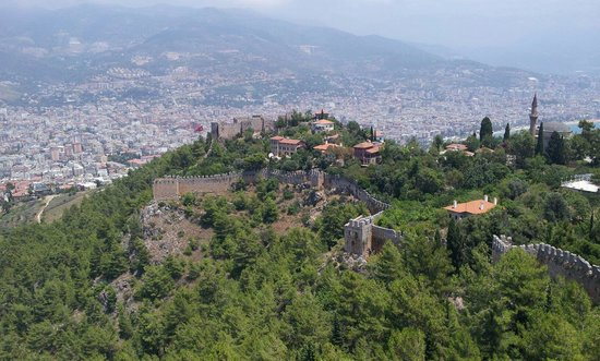 Alanya Kalesi (Castle): View from the castle