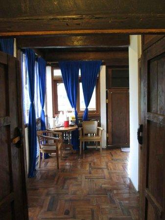Sapu Lidi Resort: living room