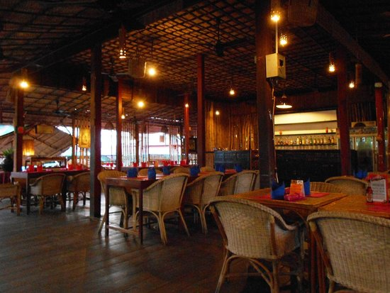 Kitchen Angkor Chey: Inside the restaurant