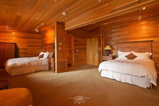 Langara Island Lodge : Spacious suites of the Eagle building