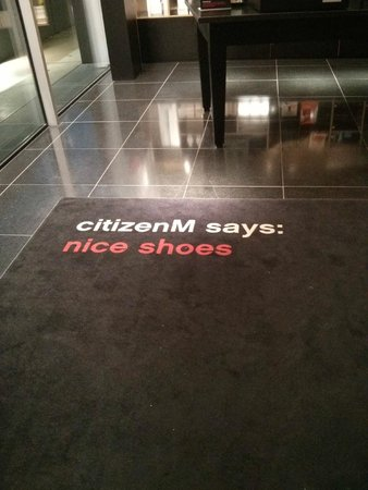 citizenM Amsterdam : Welcome