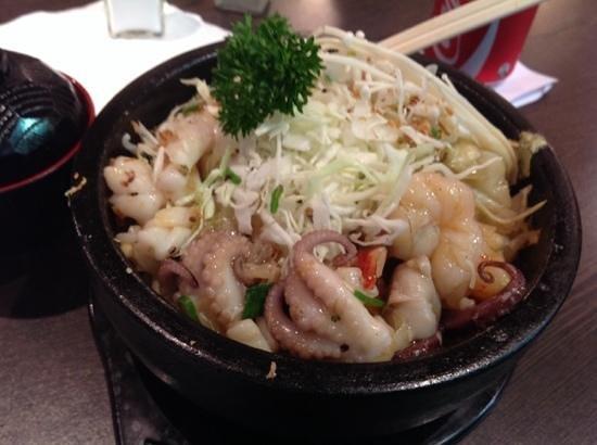 Corea Corea: seafood hot pot ! delicious!