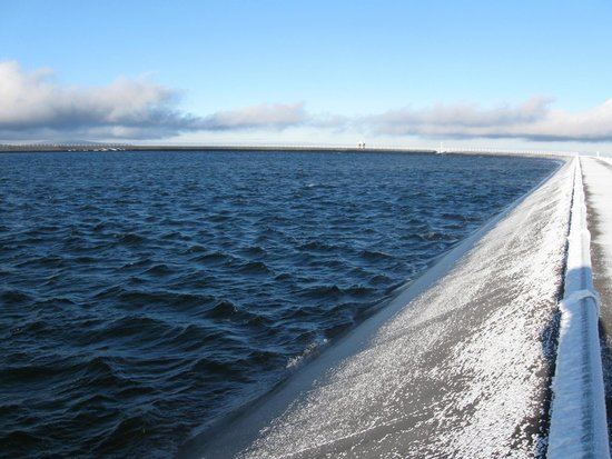 Precerpavaci Elektrarna Dlouhe Strane: Upper reservoir