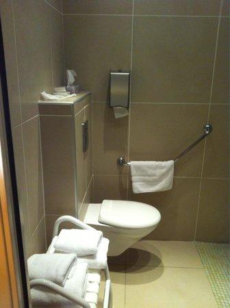 Hotel des Trois Couronnes: Parte del baño