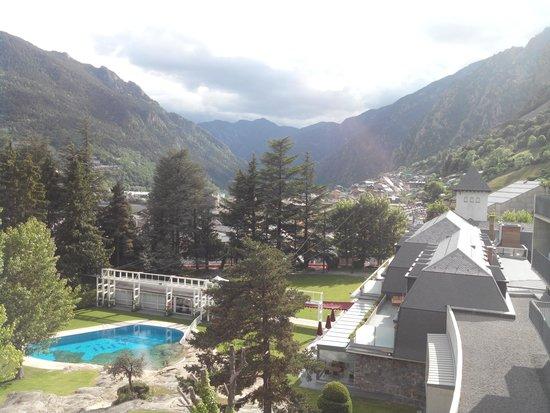 Andorra Park Hotel : vu de la chambre