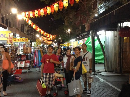 Naumi Liora : steps away from Chinatown, where we bought souvenirs and is very nice. lots of local foods too!