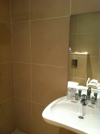 Hotel des Trois Couronnes: Baño