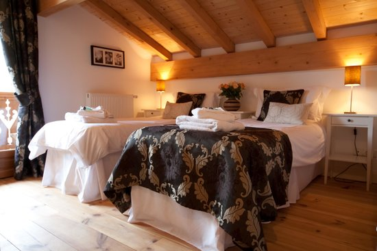Chalet Annabelle: flexible bedrooms