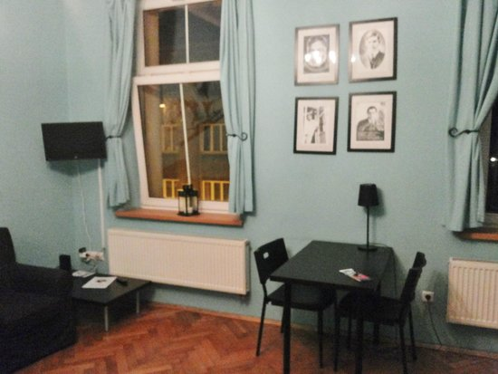 Nobel Suites: room