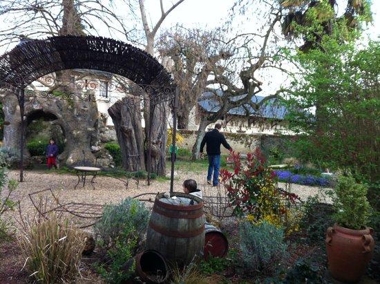 Logis La Breche: le jardin