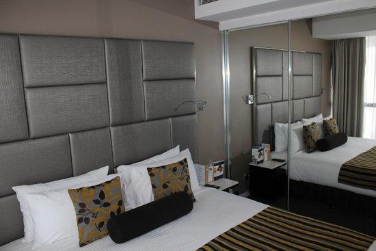 Meriton Suites Herschel Street, Brisbane: Bedroome