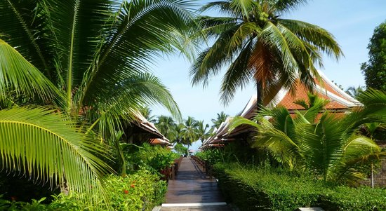 Khaolak Laguna Resort: les villas orientale