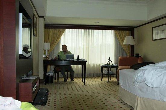 Le Meridien Kota Kinabalu : the room
