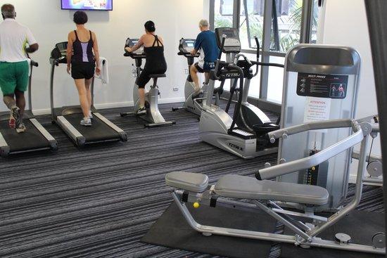 Meriton Serviced Apartments Brisbane on Herschel Street: Gym