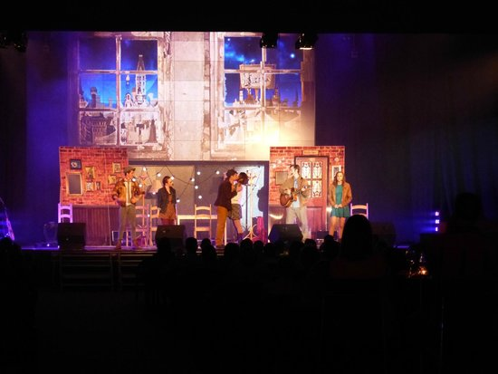 Gran Melia Palacio de Isora Resort & Spa: Theatre with daily events, musical show