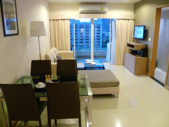Viva Garden Serviced Residence : Living Area