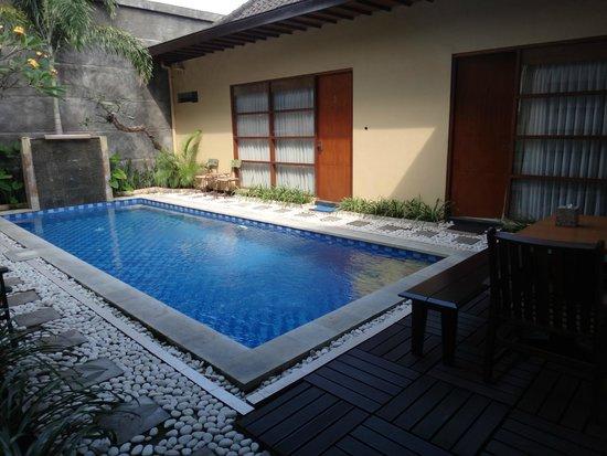 The Vie Villa: Refreshing pool