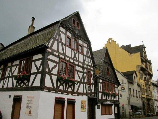 Rhein: Houses in Bacharach