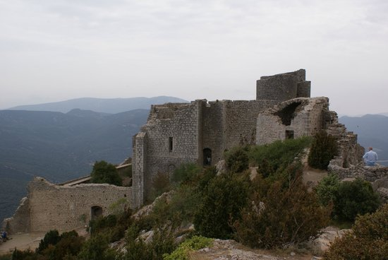 Château de Peyrepertuse : Chateau