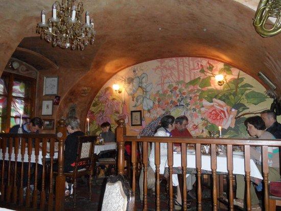 Rilke Restaurant : Vacker vägg