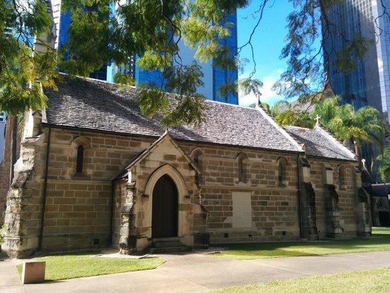 Catholic Old St. Stephen's Church (chapel): Sandstone chapel built around 1850