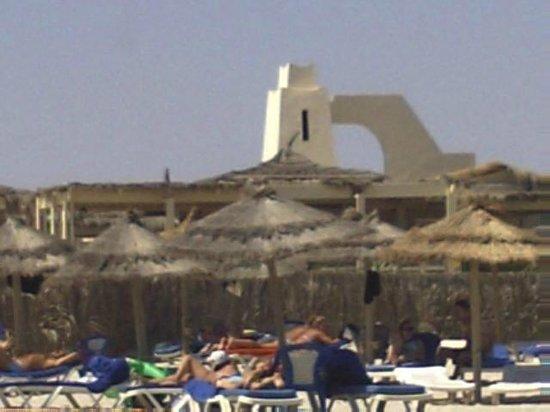 IBEROSTAR Mehari Djerba : bar vu de la plage