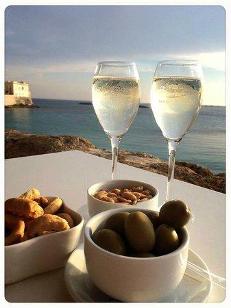 Cafe Del Mar: prosecco