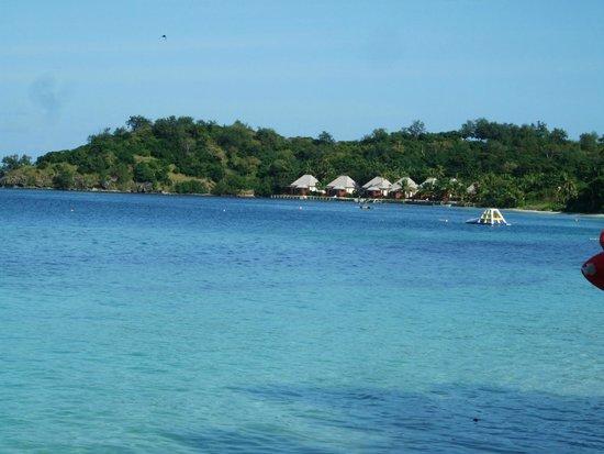 Mana Island Resort : view from the seaspray