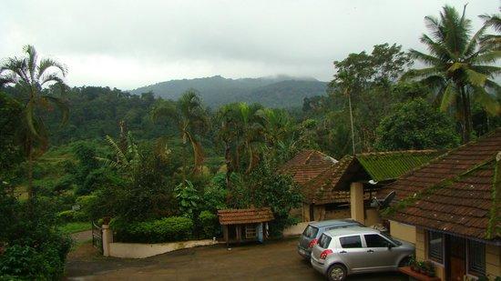 Naladi Holidays: view from the balcony..