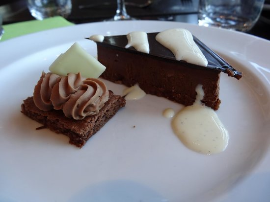 58 Tour Eiffel : Our Dessert! Amazing!