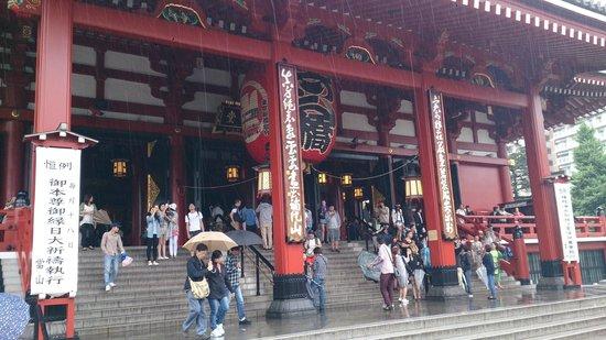 Asakusa: senso ji temple