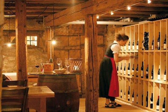 Hotel Die Halde: Weinkeller