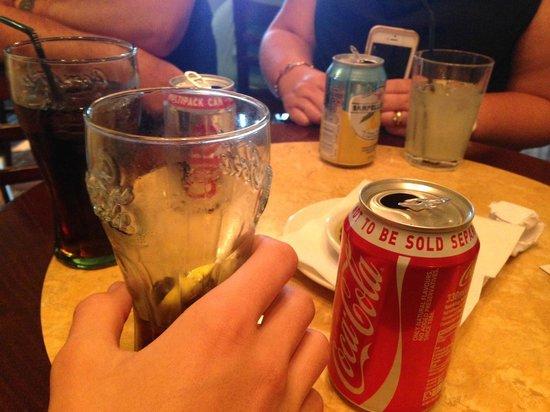 "Bella Italia Lakeside: Coke ""Multipack"" not for sale separate"