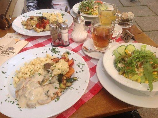Restaurant Aquila: Очень вкусное блюдо- индейка в грибном соусе
