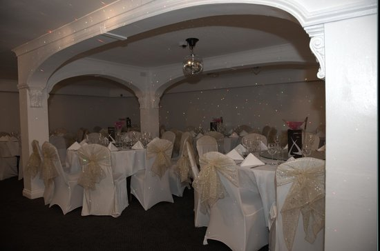 London Darbar: the room was decorated lovely