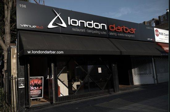London Darbar: ouside