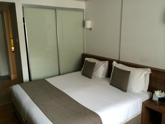 Citadines South Kensington: Chambre
