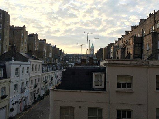 Citadines South Kensington: Vue depuis la chambre