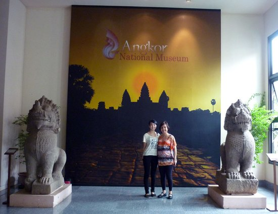 Angkor National Museum: The Lobby