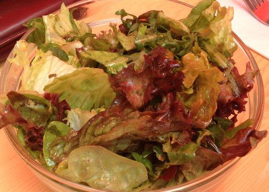 The Hamburger Foundation : close up salade