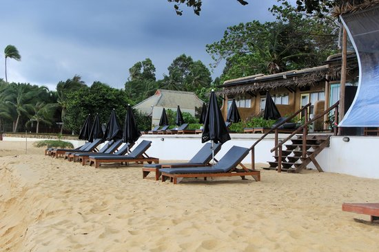 The Hammock Samui Beach Resort: Пляж