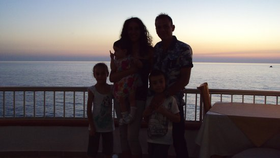 Hotel Resort Rocca di Vadaro: che magnifico sfondo.