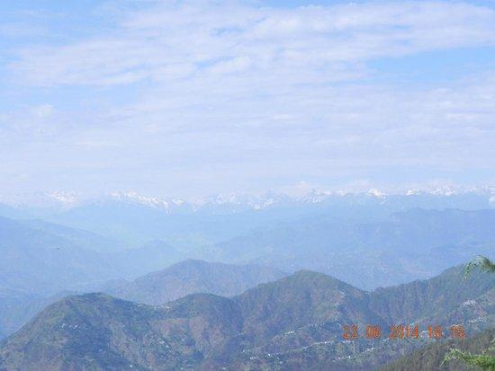 Grand View Hotel: mountain range