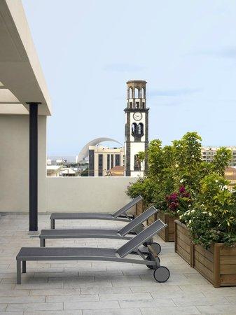 NH Tenerife: Hotel Terrace