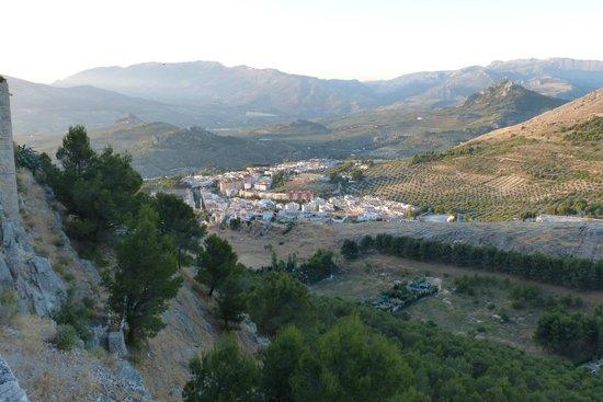 Parador de Jaén: View from room