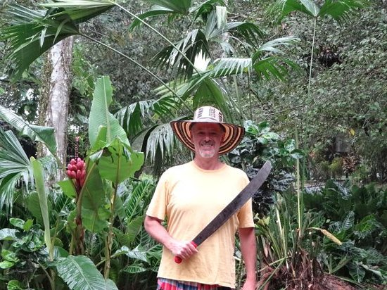 Anaconda Lodge Ecuador: Ready for the Evening Hike into the Amazonian Jungle