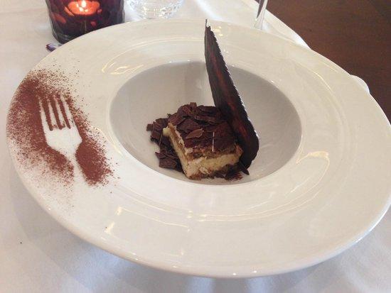 H10 Conquistador : desert in Italian restaurant