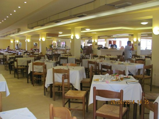 Messonghi Beach Resort : Ресторан