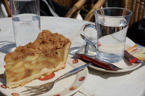Boottocht Rotterdam - Kinderdijk: torta de maça