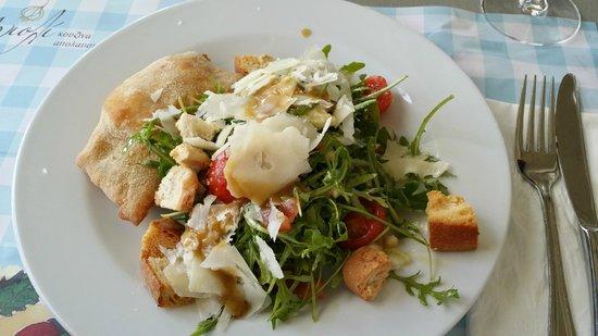 Agioli Restaurant: Rucola and Cherry Tomatoe Salad
